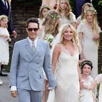Newly-wed Kate Moss and Jamie Hince are married