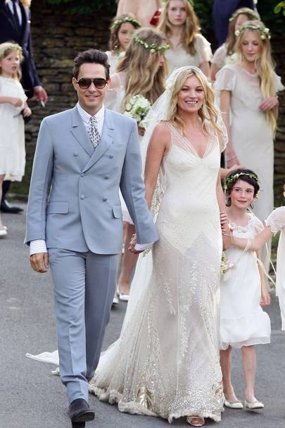 Kate moss and jamie hince wedding dress and guest pictures newly wed kate moss and jamie hince are married junglespirit Gallery