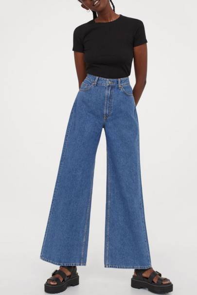 Best high-waisted jeans: H&M