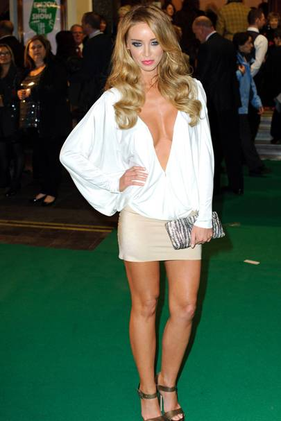 DON'T #1: Lauren Pope at the Macmillan Centenary Gala, November