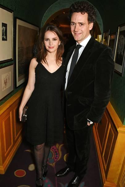 Felicity Jones & Charles Guard