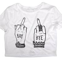 Boy Bye shirt