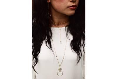 Napa Pearl Necklace by Delicora