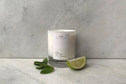 Gin gift sets: the gin & tonic candle