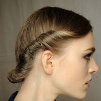 A twisted updo