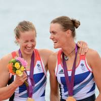 Helen Glover & Heather Stanning