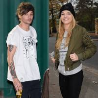 Louis Tomlinson and Louisa Johnson