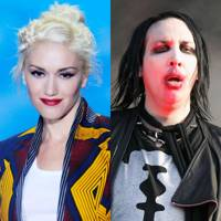 Gwen Stefani and Marilyn Manson