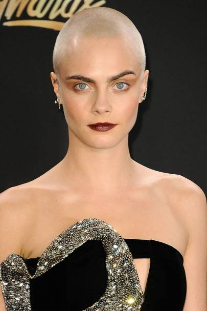 Cara Delevingne Shaved Head New Haircut For Movie Glamour Uk