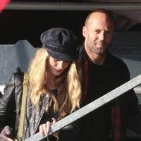 Rosie Huntington-Whiteley and Jason Statham at Barclaycard Wireless Festival 2012