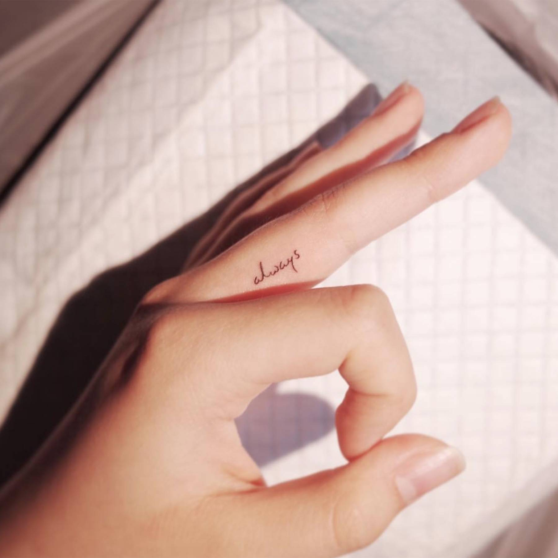 Finger Tattoo Designs Inspiration From Delicate To Daring