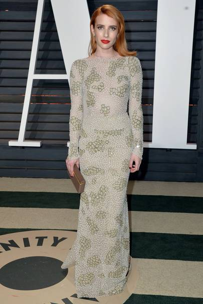 Emma Roberts at the Vanity Fair after-party