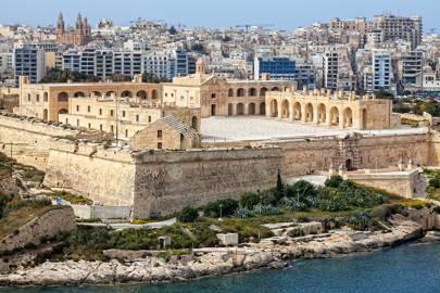 Malta: Fort Manoel, Valletta