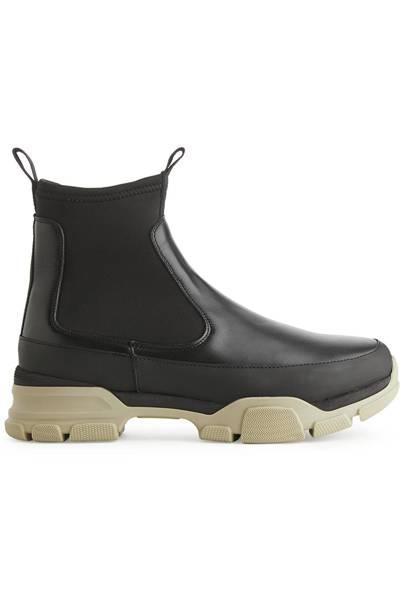 ARKET: Black Ankle Boots