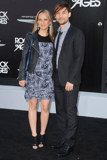 Tobey Maguire & Jennifer Meyer