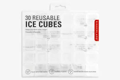25. Best reusable ice cubes