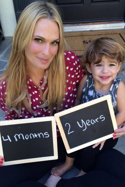 Molly Sims & Scott Stuber