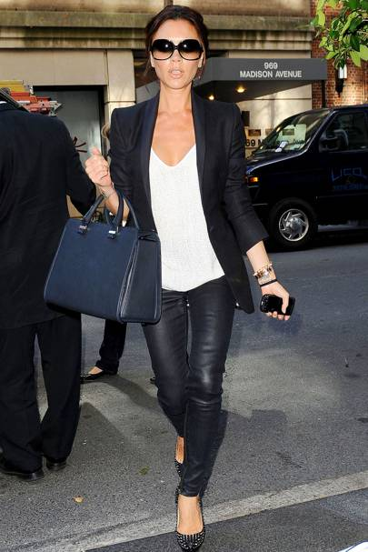 Victoria Beckham travel bag