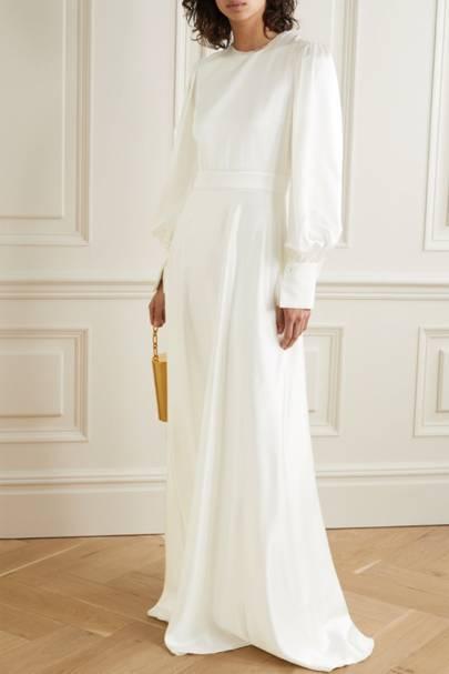 Long sleeve wedding dresses: Roksanda