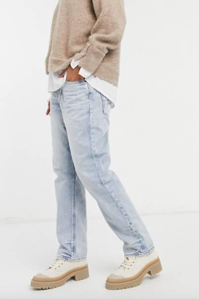 Best light wash boyfriend jeans