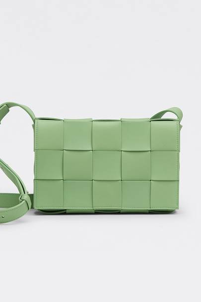 Best designer cross-body bags: Bottega Veneta