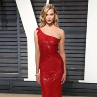 Karlie Kloss at the Vanity Fair after-party