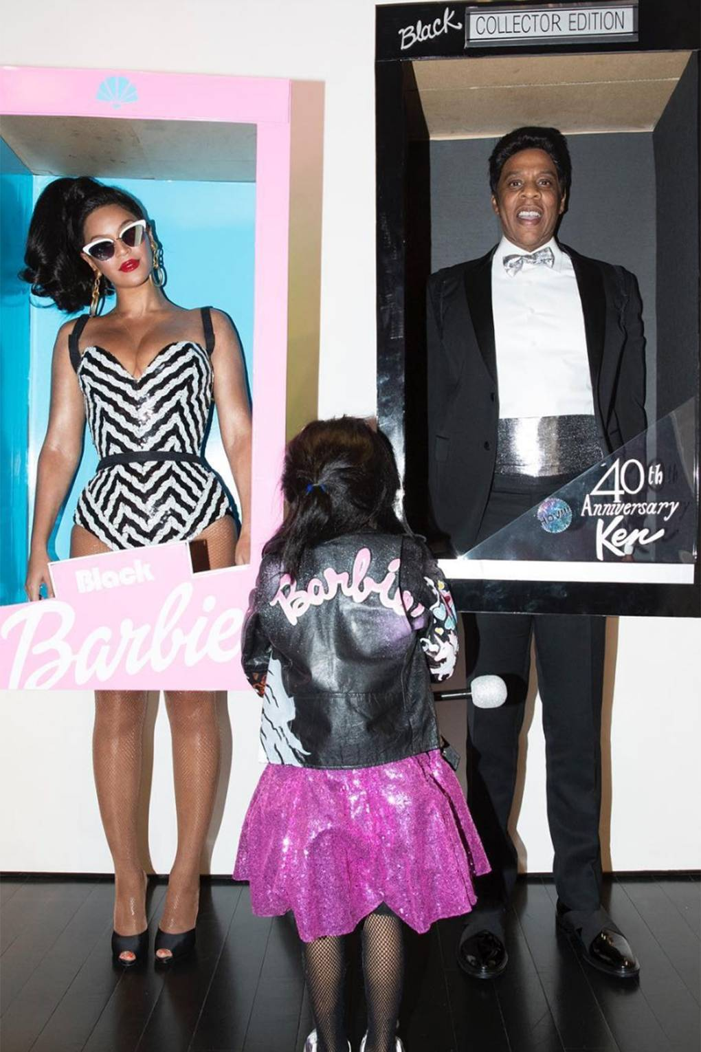 Beyonce Jay Z Blue Ivy Tina Knowles Salt N Pepper Barbie Halloween Costumes Glamour Uk