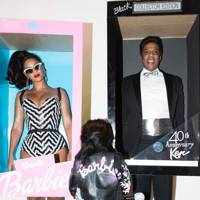 Beyoncé, Jay Z and Blue Ivy as Barbie and Ken