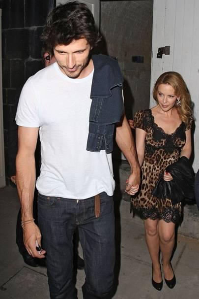 Kylie Minogue & Andres Velencoso