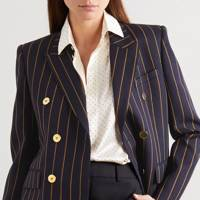 Best pinstriped blazer
