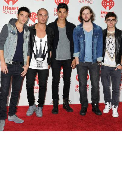 The Wanted at the iHeartRadio Music Festival