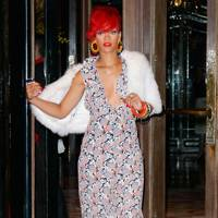DO #17: Rihanna in Miu Miu in Paris, October