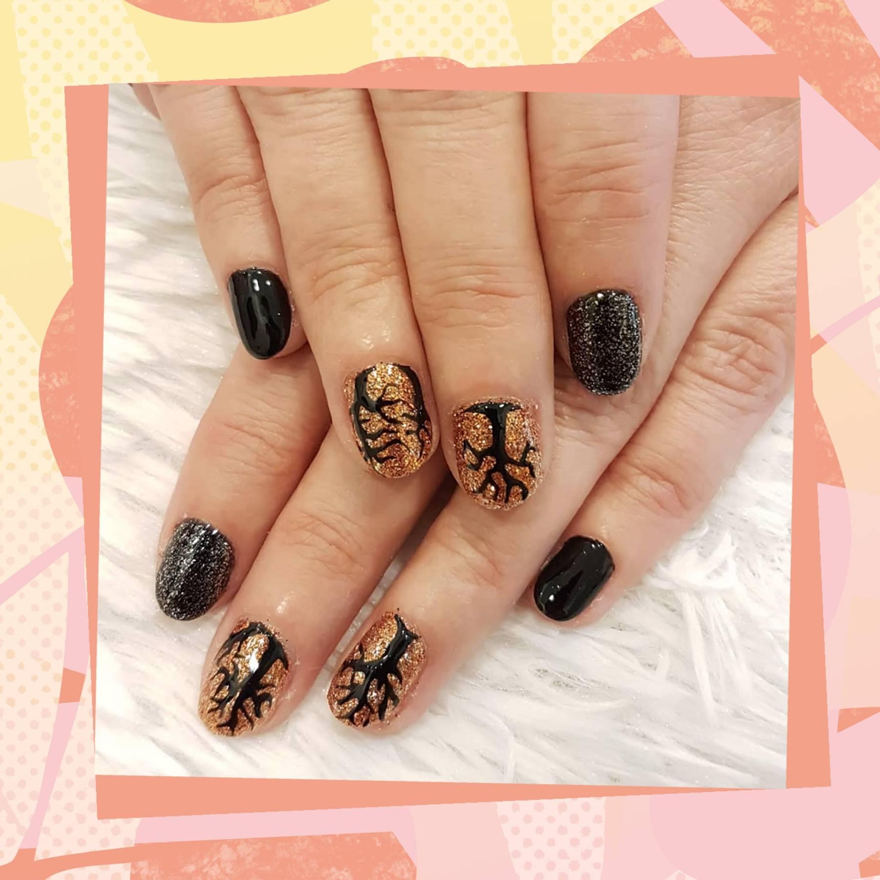 Halloween Nail Art Ideas 2018 Glamour Uk