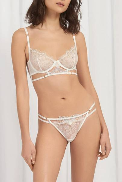 Best sexy lingerie: the ivory set