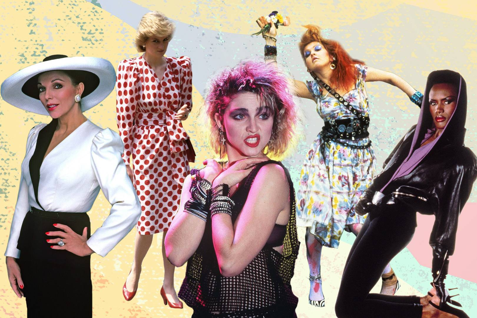 80s Fashion Icons From Prince To Grace Jones Princess Diana To Boy
