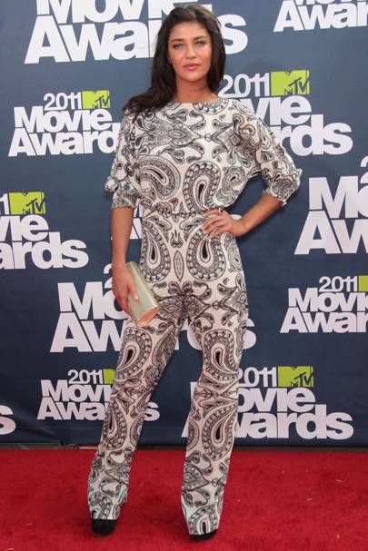 DON'T #11: Jessica Szohr at the MTV Movie Awards, June