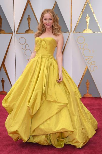 Leslie Mann on the red carpet