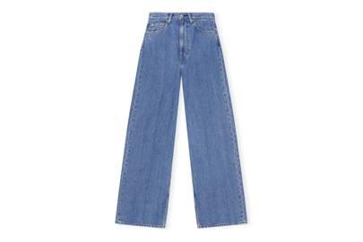 Ganni X Levi's Denim Collaboration: the wide leg jeans