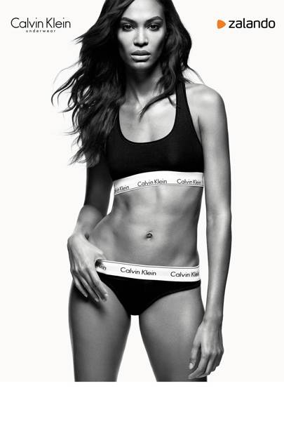 10e5db4b46 Joan Smalls joins Kendall Jenner and Justin Bieber in the long list of  supermodels and celebs to front the iconic underwear brand