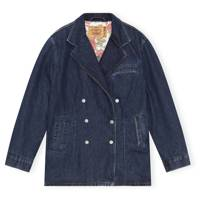 Ganni X Levi's Denim Collaboration: the denim jacket