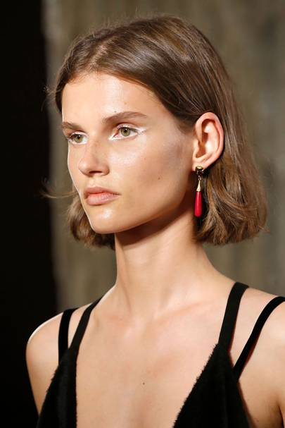 The highlighted eyes at Valentino