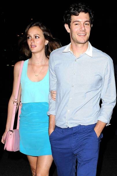 January: Leighton Meester & Adam Brody
