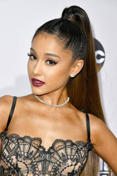 Ariana Grande's longest ever ponytail