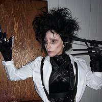 Lady Gaga as Edward Scissorhands