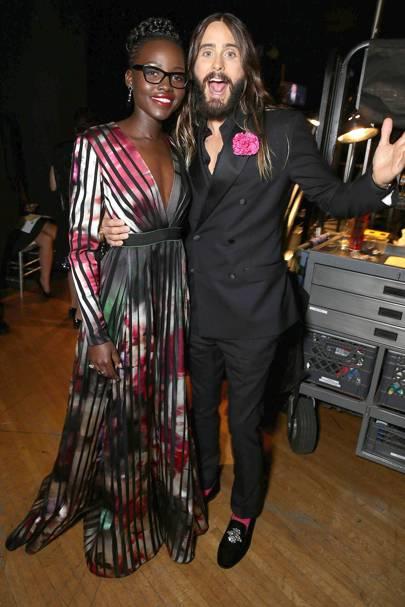 Lupita Nyong'o & Jared Leto