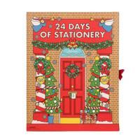 Alternative advent calendars: stationery advent calendars
