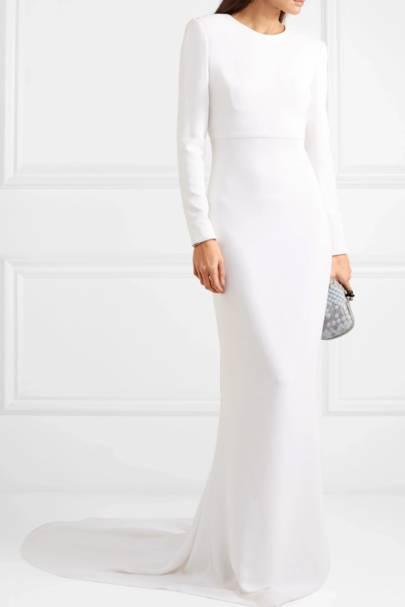 Long sleeve wedding dresses: Stella McCartney