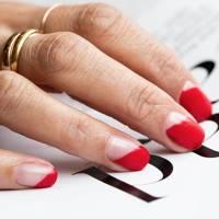 Ascending manicure