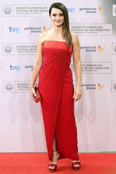 DON'T #5: Penelope Cruz at the Venuto Al Mondo Rome premiere, September