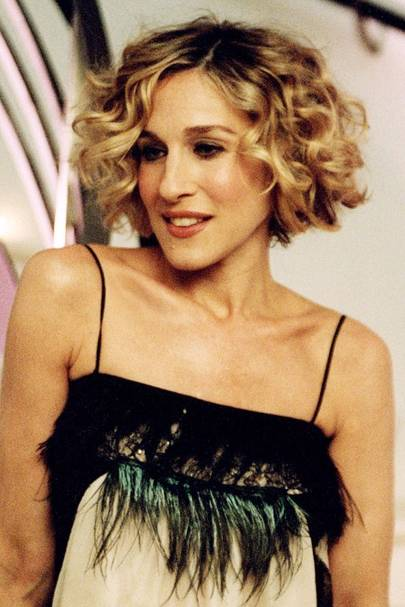 Carrie's Curly Bob - Sex and the City s5, 2002